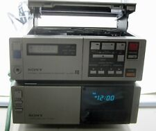 Sony Sl-Hf2000 Vcr + Tt-2000+ Lch-220 Action Pk New Rare Find