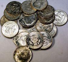 1966 Kennedy Half Dollar 50 Cents Roll 40% Silver 20 BU Coins