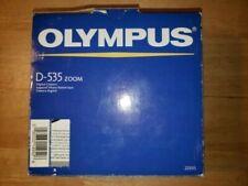Olympus CAMEDIA D-535 Zoom 3.2MP Digital Camera - Silver, Still in box