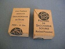 1 Boite CARTON médicaments TIN BOX FRENCH COLLECTOR