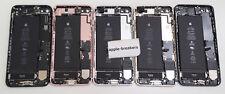 Original Apple Iphone 6 6S 6+ 6S+ 7 7Plus Trasero Carcasa Funda con Partes Ab