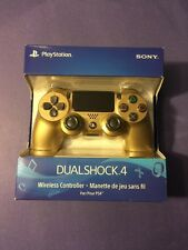 Official Sony Dualshock 4 Wireless Controller *GOLD Edition* (PS4) NEW