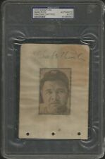 Babe Ruth Signed AUTOGRAPH Signature Slabbed YANKEES PSA/DNA