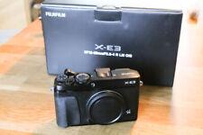 Fujifilm X-E3 Body schwarz, in sehr gutem Zustand!