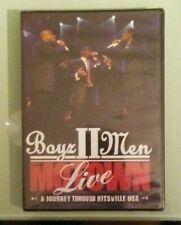 BOYZ to II MEN LIVE MOTOWN  a journey through hitsville usa  DVD NEW genuine r1