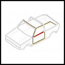 VW GOLF MK1 CABRIOLET N/S DOOR WINDOW SCRAPER RUBBER SEAL GTI Cabrio Convertible