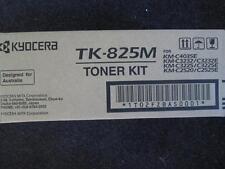 ORIGINAL TK 825M Kyocera MAGENTA KM-C4035E C3232 C3232E C3225 C3225E 2520 2520E