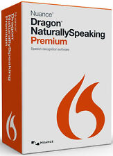 Dragon NaturallySpeaking Premium Commercial Retail V13 with headset Free Express