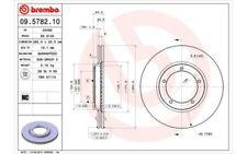 BREMBO Juego de 2 discos freno 282mm ventilado PORSCHE 911 924 944 09.5782.10