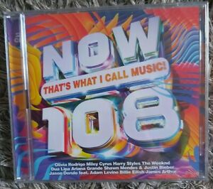 Now That's What I Call Music 108 (2CD SET) BRAND NEW SEALED ( FREE POSTAGE)
