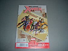 Wolverine And The X-Men No 27 AU Marvel Comics June 2013 Age of Ultron VF/NM 9.0