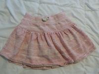 Lands' End Girls Pink Skort Skirt, Sz 6X EUC
