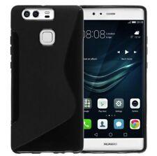 Coque Protection Housse Etui silicone noir pour Huawei P10 LITE