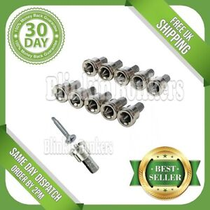10PC DRYWALL DIMPLER SCREWDRIVER BITS PHILIPS PH2 PLASTERBOARD DEPTH STOP LIMIT