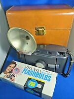 Polaroid Instant Land Camera Model 150 W/ Case & Wink-Light, VINTAGE
