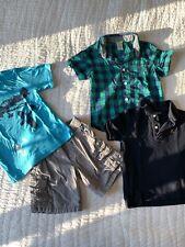 EUC Boys Size 4 Lot Gap Gymboree Outfit Shorts Shirts T-shirt Polo