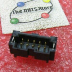 Samtec T2M-105-01-L-D-TH-WT Header Connector Receptacle 10-Pin NOS Qty 1