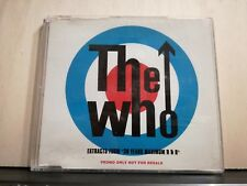 THE WHO- PROMO ONLY NOT FOR SALE CD slim case import U.K.1994