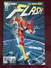 Flash 2 Variant new 52 DC Comics SIGNED Brian Buccellatto