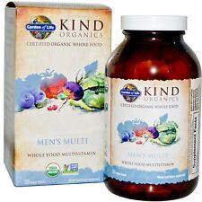 Jardín de la vida, tipo Organics, para hombre Multi, 120 comprimidos Vegano