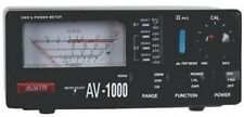 AVAIR AV-1000 SWR POWER Meter HF VHF UHF Ham Radio