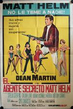 Leise flüstern die Pistolen Filmposter ARGENTINIEN The Silencers Dean Martin