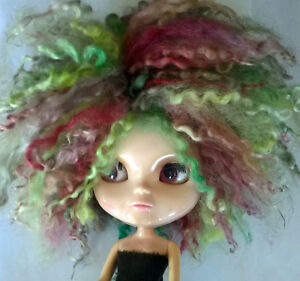 Teeswater Short Locks Doll Wig in Dragons Wood