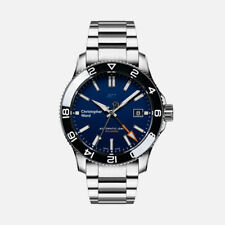 Christopher Ward C60 TRIDENT PRO GMT 600 40mm MK3 BLUE & BLACK Divers Watch