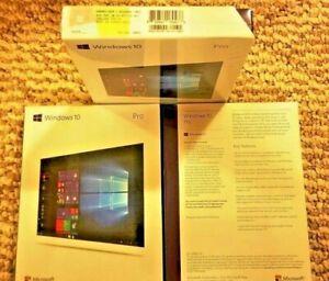 Microsoft Windows 10 Professional,SKU FQC-10069,Sealed Box,32-bit,64-bit,USB 3