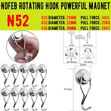 0 29kg Swivel Swing Powerful Magnetic Hooks Strong Heavy Duty Neodymium Magnet