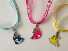 5 x Princess Style Necklaces - Stocking filler / Party Bag Gift Birthday