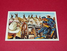 N°342 WOONDED KNEE CONQUETE DE L'OUEST WILLIAMS 1972 PANINI FAR WEST WESTERN