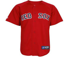 NWT Majestic Boston Red Sox MLB Youth Red Replica Jersey - Youth XL (18/20)