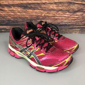 ASICS GEL-Cumulus 16 Womens Pink Running Fitness Gym Shoes Trainers EU 40 UK 6.5