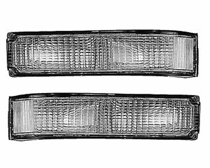 TYC Pair Set of 2 Turn Signal Parking Light Assemblies For Chevy GMC C1500 88-99