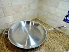 """All-Clad 14""""  STAINLESS Frying Pan Master Chef"""