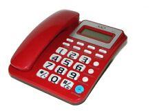 TELEFONO FISSO PER CASA UFFICIO ALBERGHI TASTI GRANDI PER ANZIANI LCD