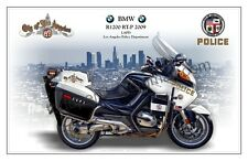 BMW Motorcycle - LAPD Los Angeles Police Department - Profile