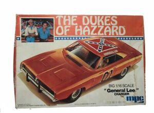 Vintage MPC The Dukes Of Hazzard 1/16 1981 General Lee model kit #1-3058.