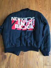 New Kids On The Block NKOTB Hangin Tough World Tour 89-90 Jacket Med Rare