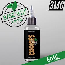 E-liquide 3mg Bio* COOKIES 50%|50% 60ml Cigarette électronique 🔥PRIX PROMO 🔥