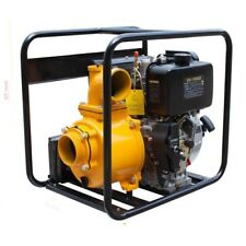 DIESEL 4 Inch High Flow Water Transfer Pump 10HP THORNADO Key Start