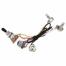 Electric Guitar Wiring Harness Kit 3 Way Toggle Switch 2 Volume 1 Tone 500K C8G8