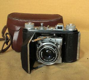 Welti I German folding 35mm Welta camera CLA works Cludor Zeiss Tessar