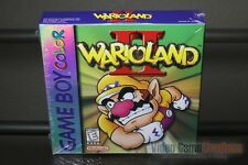 Wario Land II 2 (Game Boy Color, 1999) H-SEAM SEALED! - EXCELLENT! - ULTRA RARE!