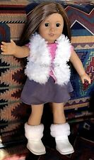 American Girl Doll Truly Me #29 Brown Silky Hair and Brown Eyes- Pierced Ears!