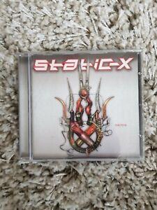 STATIC-X machine (CD, album, 2001) nu metal, hard rock, very good condition