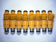 Set of Eight ( 8 ) Flow Matched Refurbished Fuel Injectors # 0280155857 Bosch