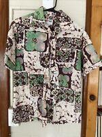 Vintage Malihini Hawaii for Liberty House Hawaiian 1960's 1970's Shirt