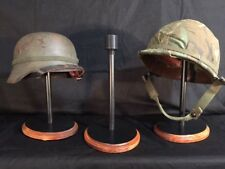 HELMET STAND - Military, WWI, WWII, Vietnam, -Made in the US. Model BFC-1
